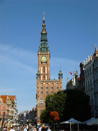 Rathaus in Danzig