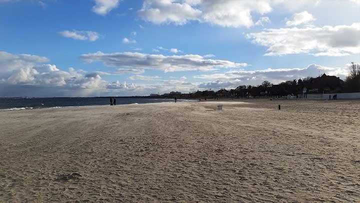 Strand von Jastrzebia Gora