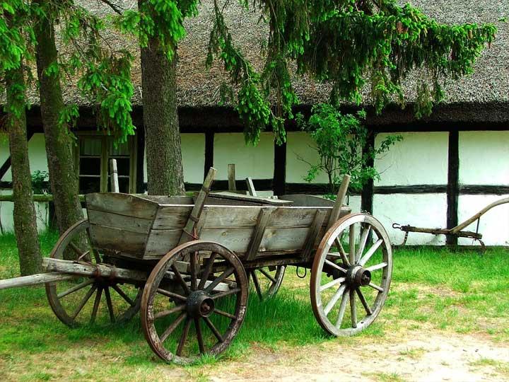 Freilichtmuseum in Kluki
