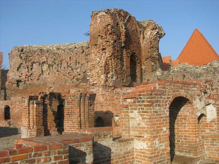 Ruinen in Torun
